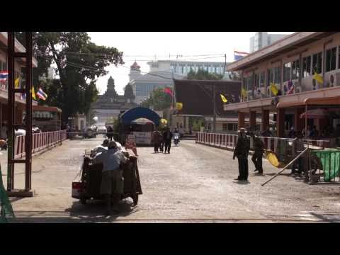 Thailand 2011:Thai- Cambodia Border Aranyaprathet- Poipet อรัญประเทศ