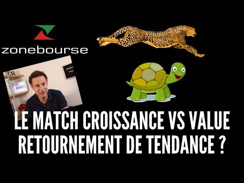 Le match Growth vs Value: retournement de tendance ?