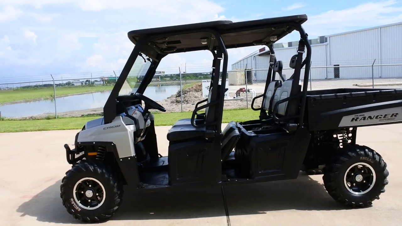 for sale 8 999 pre owned 2011 polaris ranger crew 800 limited [ 1280 x 720 Pixel ]