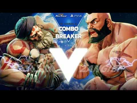 SFV: Combo Breaker 2017 - Top 96 Part 2 - CPT 2017