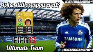 FIFA 13 - Ultimate team - Is he still overpowered? - David luiz