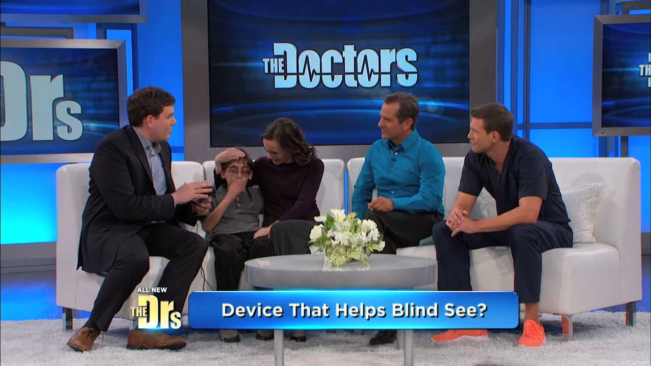 Innovative Device To Help Blind People See