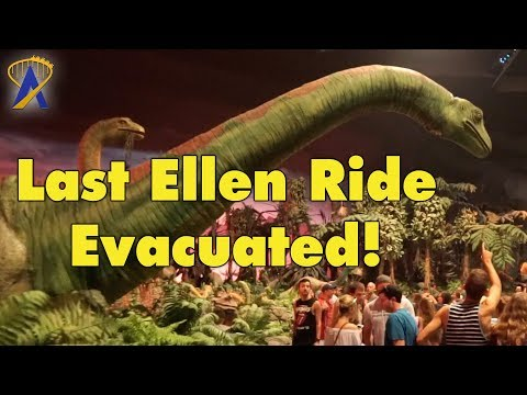 Last Ellen's Energy Adventure Ride Ends in Evacuation and Fans Love It