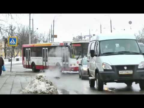 Автобус №56 в Твери