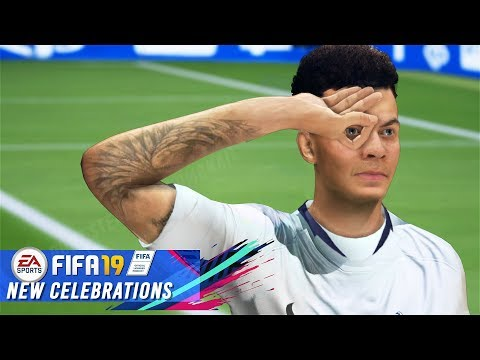 FIFA 19 ALL NEW CELEBRATIONS TUTORIAL | XBOX & PLAYSTATION