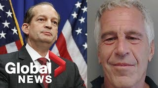 HIGHLIGHTS: Alex Acosta discusses Jeffrey Epstein plea agreement