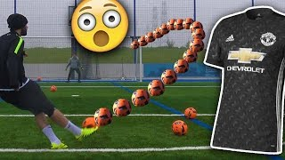 Man Utd Kit Forfeit & Squad Builder Football Challenges - Who Wins?