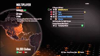 Black Ops 2 Griefing- Angry Woman goes MENTAL!