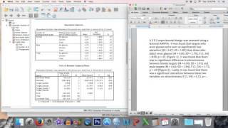How to analyze data in SPSS