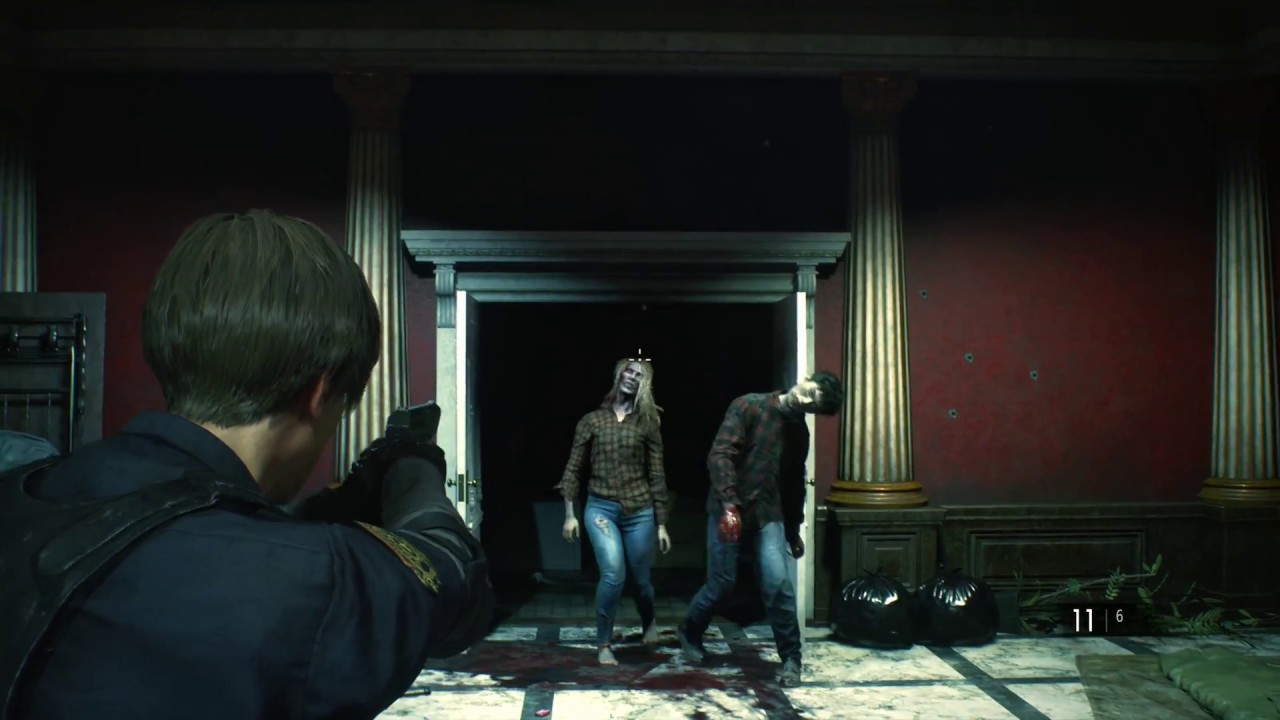 Resident Evil 2 Remake | Aiming