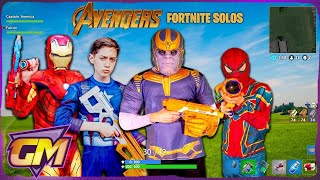 Avengers Kids - Fortnite Solos In Real Life!!