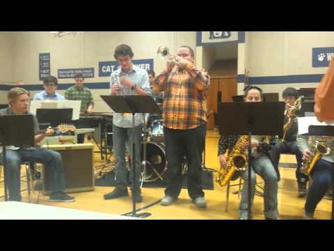 Harrisonville High School jazz band
