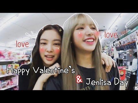 Happy Valentine's & JENLISA DAY ♡