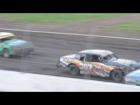 2016-07-24 IMCA Hobby Stock Feature from Benton County Speedway