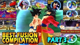 Dragon Ball Best Fusion Compilation PART 3 | BEST DBZ FUSIONS OF 2017 | DBZ Tenkaichi 3 (MOD) thumbnail