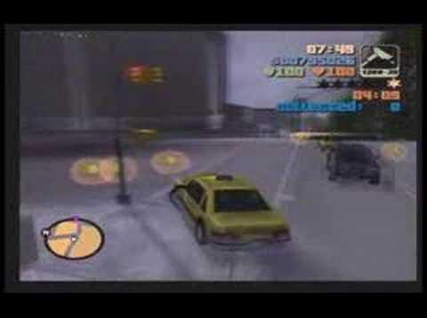 """Grand Theft Auto 3: Mission #62 - """"Bullion Run"""""""