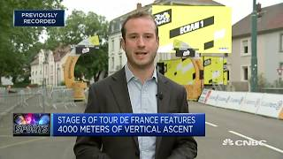 Tour de France gears up for stage 6 | CNBC Sports