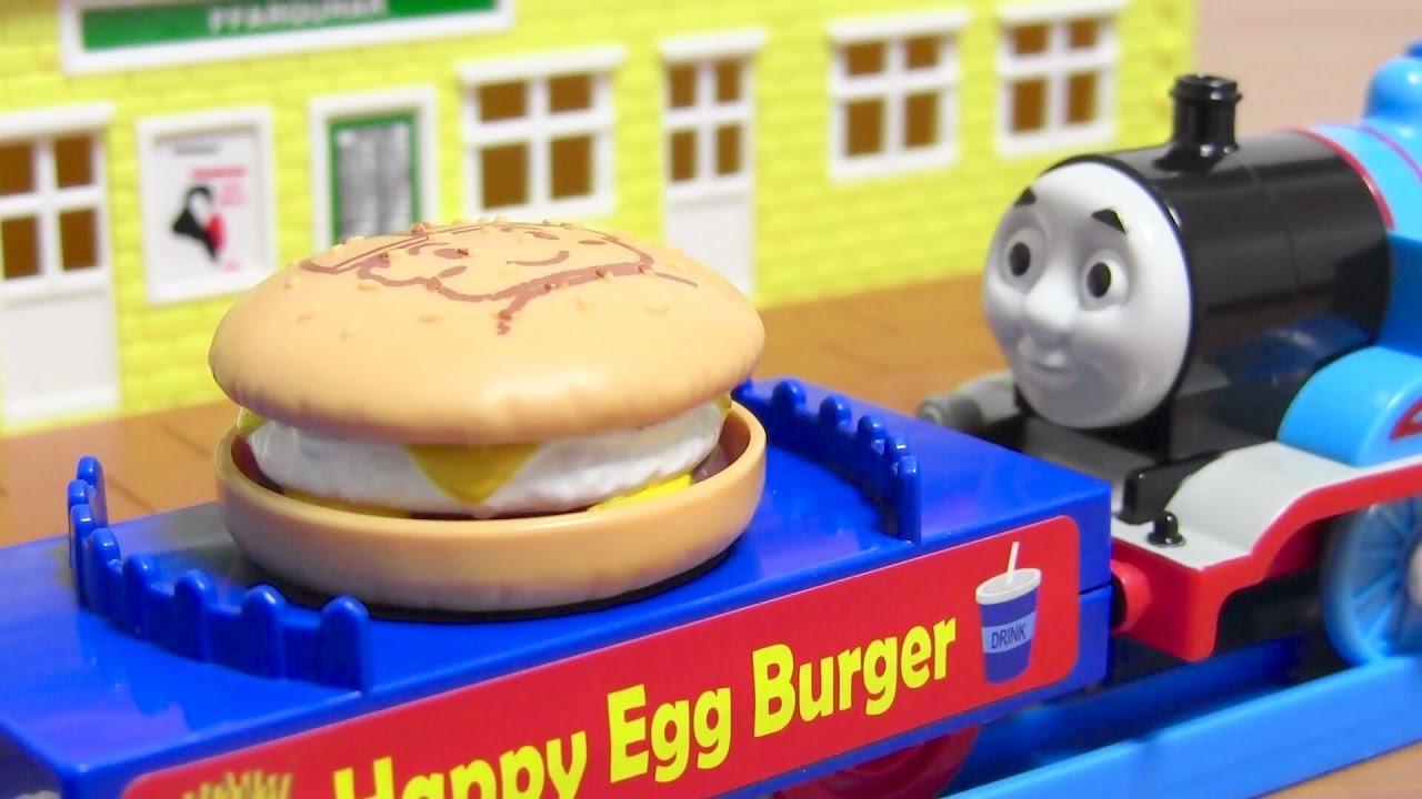 プラレール ハンバーガー貨車201...