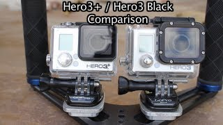 GoPro Hero3+ vs Hero3 Black Comparison - GoPro Tip #245   MicBergsma