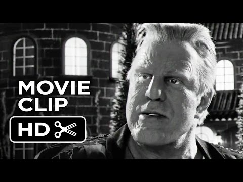 Sin City: A Dame To Kill For Movie CLIP - Trespassing (2014) - Mickey Rourke Thriller HD