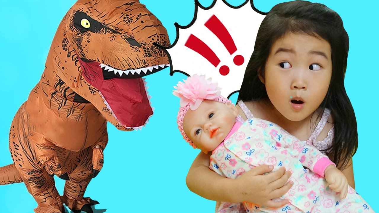 L'histoire de boram et du dinosaure géant - oui papa