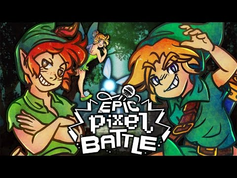 Link VS Peter Pan - EPIC PIXEL BATTLE [ EPB SAISON 3 ]