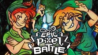 Link VS Peter Pan - EPIC PIXEL BATTLE [ EPB SAISON 3 ]