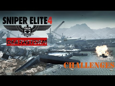 SNIPER ELITE 4 DeathStorm DLC, 1st Chapter - Surprise! You're Dead + Getting the Drop on Them