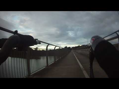 West Auckland to North Shore ,, Cycle cam .. NZ..