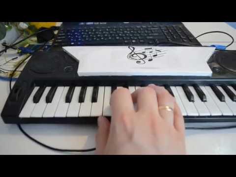 Миди клавиатура на плате Arduino Uno