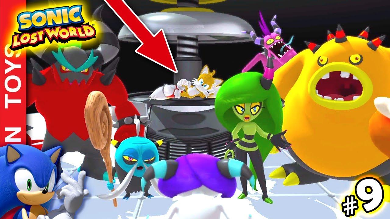 """🔵 SONIC LOST WORLD #9 - """"SOFRENDO"""" para passar as fases kkkk 😂😂😂 E Tails cercado de vilões!!! 😱😱😱"""