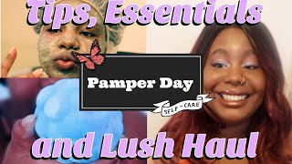 Pamper day: Tips, essentials and a Lush Haul