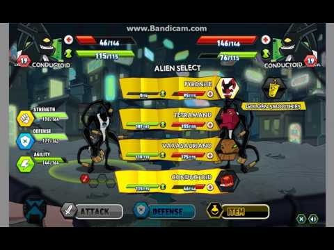 Ben10 Fight 2 Game - Play online at Y8.com