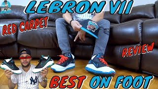 """NIKE AIR MAX LEBRON 7 """"RED CARPET"""" UNBOXING 