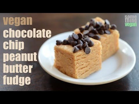 Download Youtube: chocolate chip peanut butter fudge (vegan & gluten-free) Something Vegan