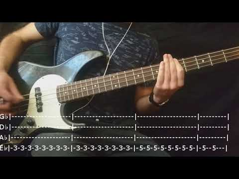 The Killers - Somebody Told Me Bass Cover (Tabs)