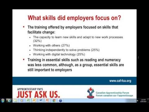 The Business Case for Essential Skills in the Skilled Trades