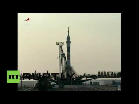 Kazakhstan: Expedition 48 spacecraft bound for ISS launches successfully