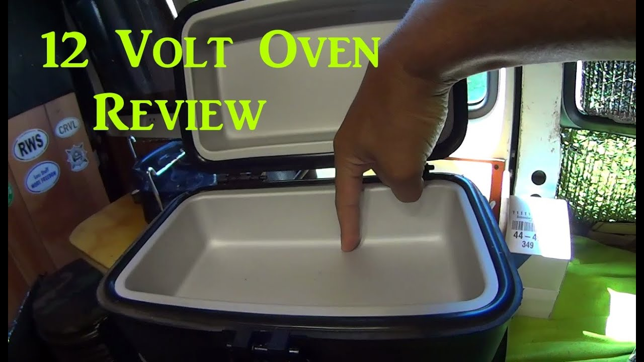 Review Of The Roadpro 12 Volt Oven Van Living Youtube