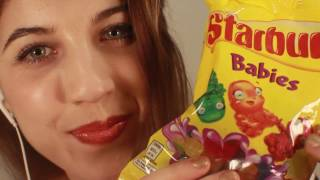 ASMR Gummy Tingles ~ Mouth Sounds//Tapping//Soft Spoken