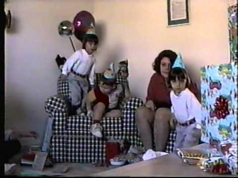 Garretts 3rd Birthday 1996