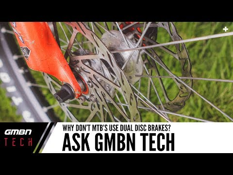 Why Don't Mountain Bikes Have Dual Disc Brakes? | Ask GMBN Tech