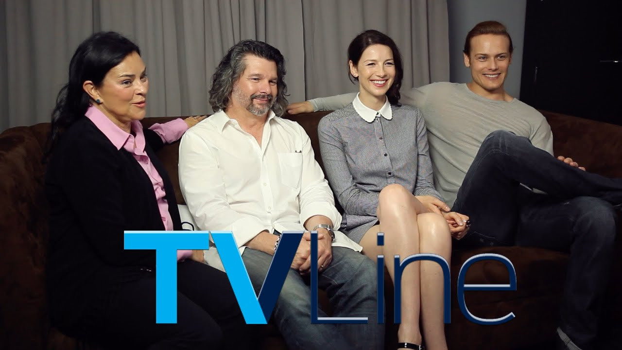 """Outlander"" Interview at Comic-Con 2015 - TVLine - YouTube ..."