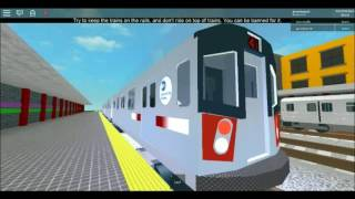 Roblox The IRT Automated Metro New York City SUbway Arivving/Departing Brooklyn Episode #11
