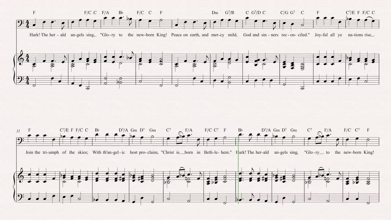 Bassoon hark the herald angels sing christmas carol sheet bassoon hark the herald angels sing christmas carol sheet music chords vocals hexwebz Gallery