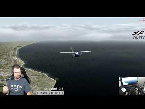 P3D 4.1  A2A Cessna Skyhawk 172 Part 2 of 2 GTN750