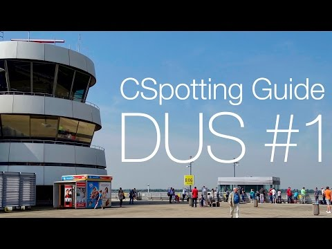 CSpotting Guide Düsseldorf Airport | #1 the Observation deck