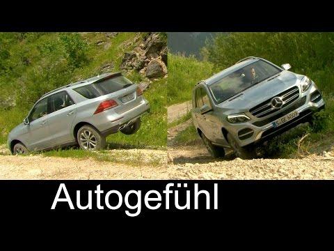 All-new Mercedes GLE 400 impressive offroad test & 250d, 500e Exterior Interior Driving Preview
