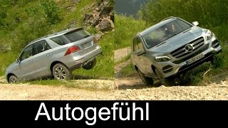 All-new Mercedes GLE 400 impressive offroad test & 250d, 500e Exterior Interior Driving Preview