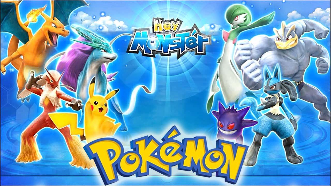 Pokémon Hey Monster Park Gameplay - YouTube